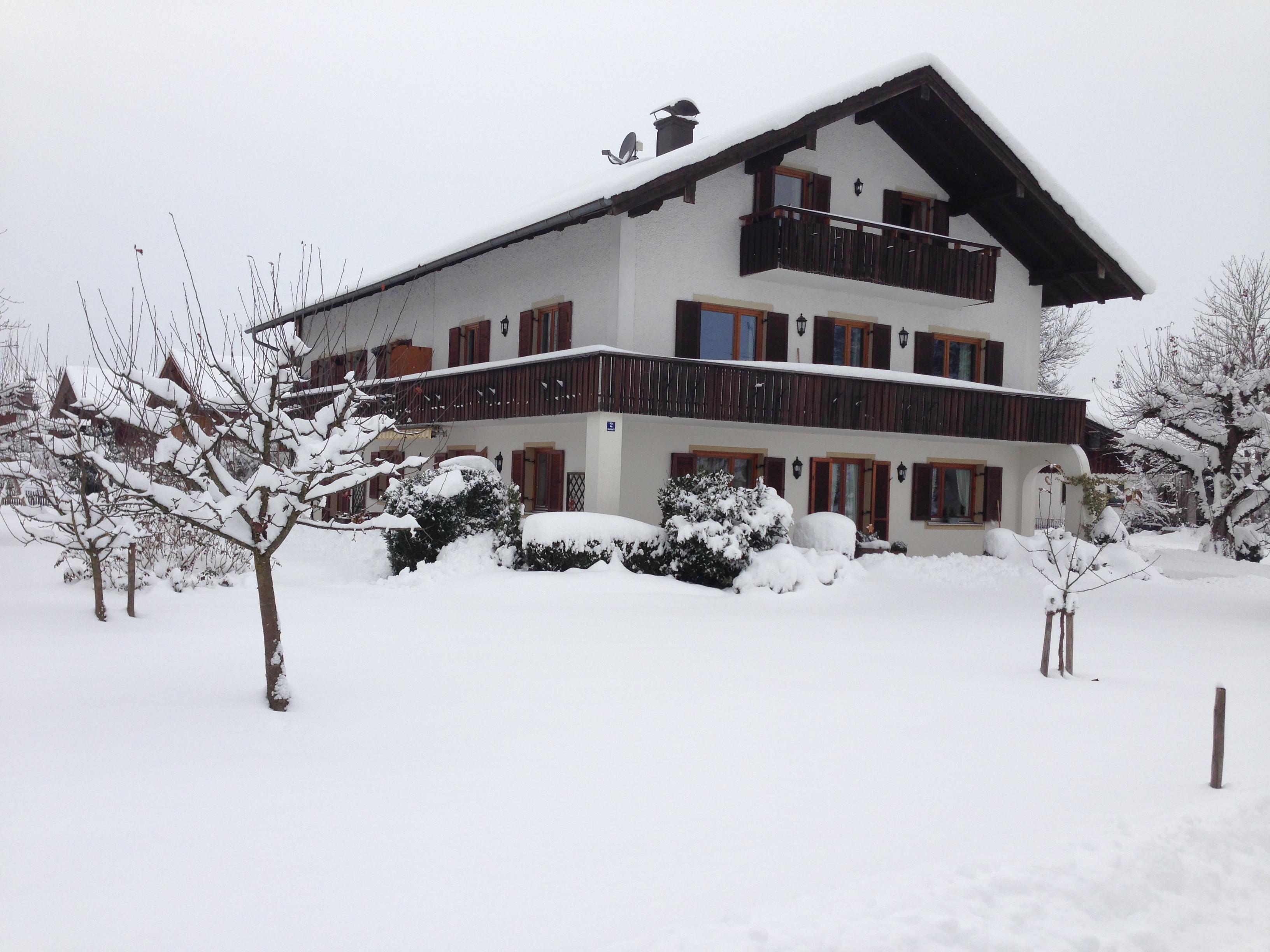 Wintermärchen im Haus Regnauer
